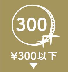 ¥300以下
