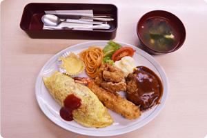 富山の定食屋